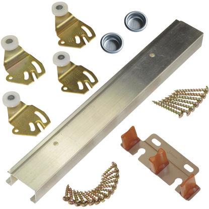 Picture of Johnson Aluminum 60 In. Bypass Door Hardware Set