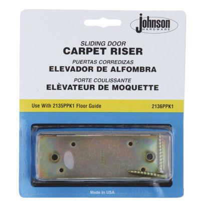 Picture of Johnson Hardware Carpet Riser