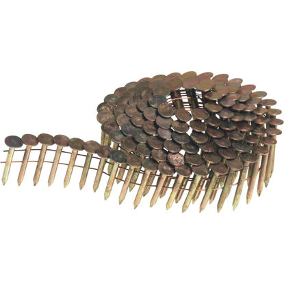 Picture of Senco 15 Degree Wire Weld Galvanized Coil Roofing Nail, 1-1/2 In. (7200 Ct.)