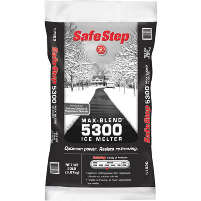 Picture of Safe Step Max-Blend 5300 20 Lb. Ice Melt Flakes