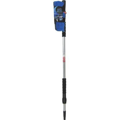 Picture of Viking 10 In. Deluxe Flo-Thru Wash Brush with 40 In. to 66 In. Telescoping Handle
