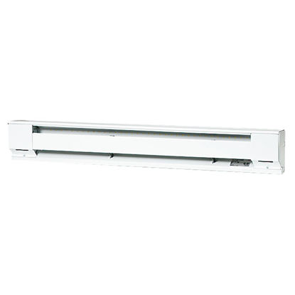 Picture of Fahrenheat 48 In. 1000-Watt 120-Volt Electric Baseboard Heater, Northern White