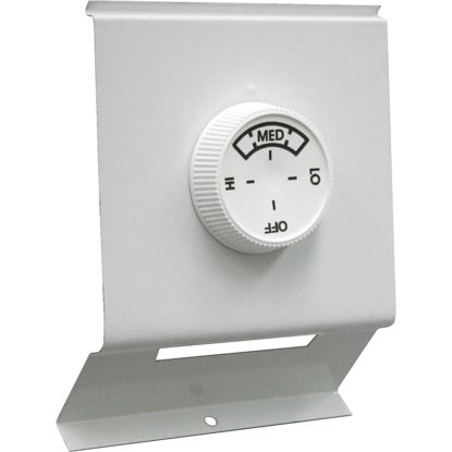 Picture of FAHRENHEAT White Double with Off Position 22A at 120-277V AC Electric Baseboard Heater Thermostat