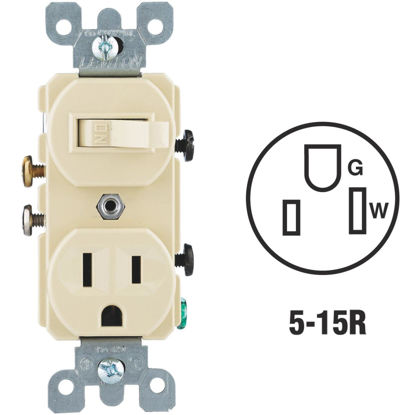Picture of Do it Best Ivory 15A Switch & Outlet