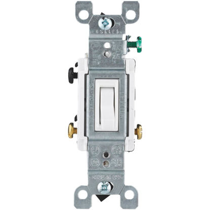 Picture of Do it White 15A Grounding Quiet 3-Way Switch