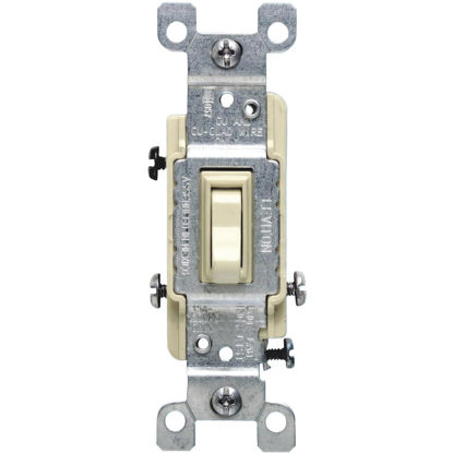 Picture of Do it Ivory 15A Grounding Quiet 3-Way Switch
