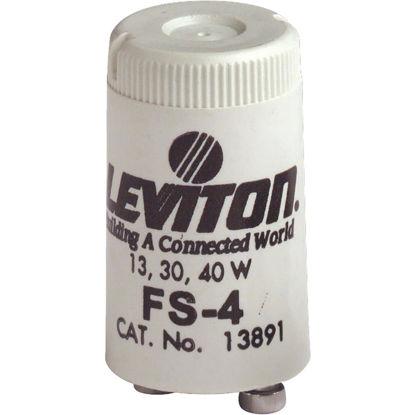 Picture of Leviton 13W/30W/40W 2-Pin T8 Fluorescent Starter