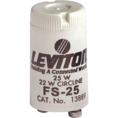 Picture of Leviton 22W/25W 2-Pin Circline Fluorescent Starter