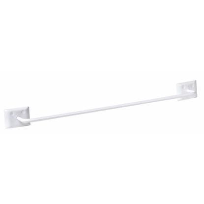 Picture of Decko Diamond Bar Design 18 In. White Towel Bar