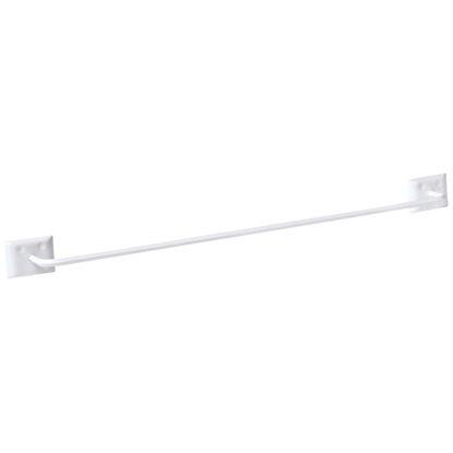 Picture of Decko Diamond Bar Design 24 In. White Towel Bar