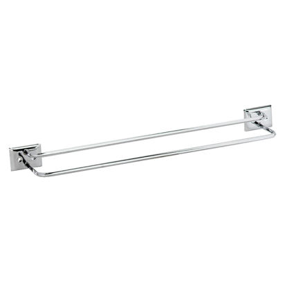 Picture of Decko Diamond Bar Design 18 In. Chrome Twin Towel Bar