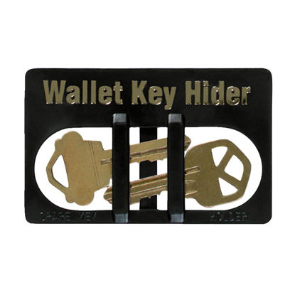 Picture of Lucky Line Black Plastic Wallet Card Key Hider
