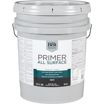 Picture of Do it Best White Exterior Primer, 5 Gal.