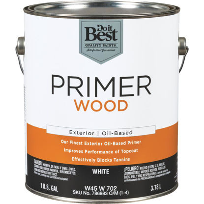 Picture of Do it Best White Exterior Primer, 1 Gal.