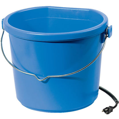 Picture of API Plastic Heated 5 Gallon Blue Bucket