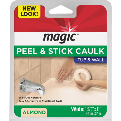 Picture of Magic 1-5/8 In. x 11 Ft. Almond Caulk Strip