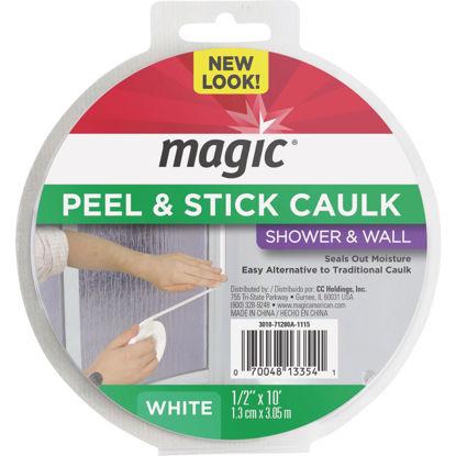 Picture of Magic 1/2 In. x 10 Ft. White Caulk Strip