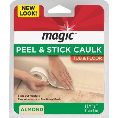 Picture of Magic 1-1/4 In. x 5 Ft. Almond Caulk Strip