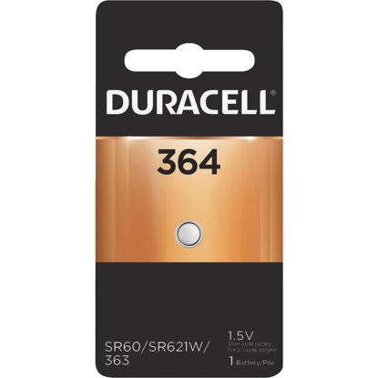 Picture of Duracell 364 Silver Oxide Button Cell Battery