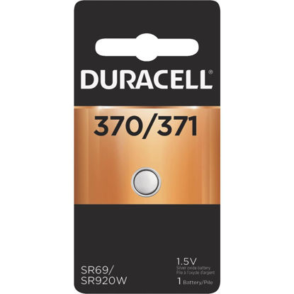 Picture of Duracell 370/371 Silver Oxide Button Cell Battery
