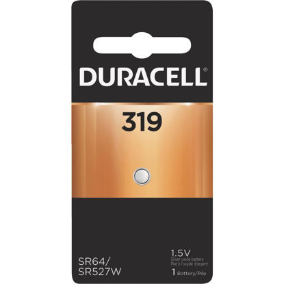 Picture of Duracell 319 Silver Oxide Button Cell Battery