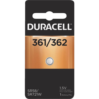 Picture of Duracell 361/362 Silver Oxide Button Cell Battery