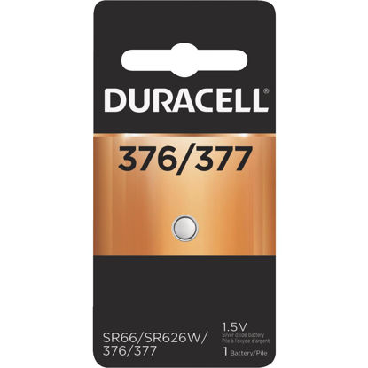 Picture of Duracell 376/377 Silver Oxide Button Cell Battery