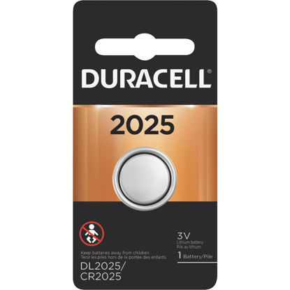 Picture of Duracell 2025 Lithium Coin Cell Battery