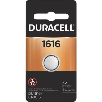 Picture of Duracell 1616 Lithium Coin Cell Battery