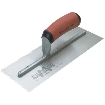 Picture of Marshalltown 3/16 In. V-Notched Trowel w/DuraSoft Handle