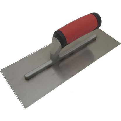 Picture of QLT 3/16 In. V-Notched Trowel w/Soft Grip