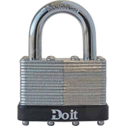 "Picture of Do it Laminated Steel 1-3/4"" Pin Tumbler Padlock"