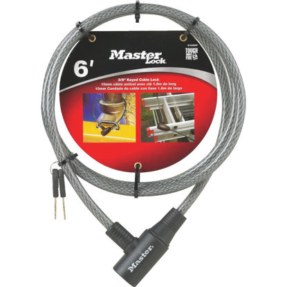 Picture of Master Lock 6 Ft. x 3/8 In. Integrated Keyed Cable Lock