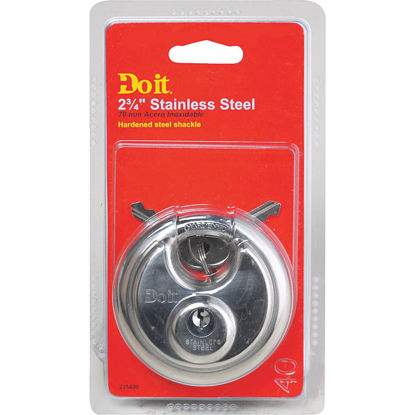 Picture of Do it 2-3/4 In. Shrouded Keyed Padlock
