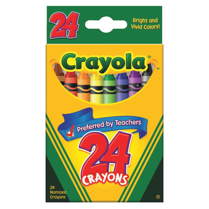 Picture of Crayola Traditional Crayons (24-Pack)