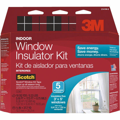 Picture of 3M Indoor 62 In. x 210 In. Window Insulation Kit, (5-Pack)