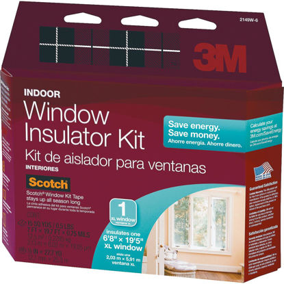 Picture of 3M Indoor  84 In. x 237 In. Oversized Window Insulation Kit