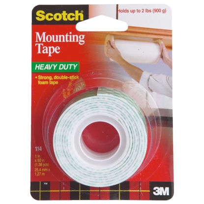 Picture of 3M Scotch 1 In. x 50 In. Indoor Mounting Tape (5 Lb. Capacity)