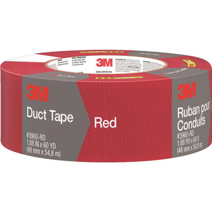 Picture of 3M 1.88 In. x 60 Yd. Colored Duct Tape, Red