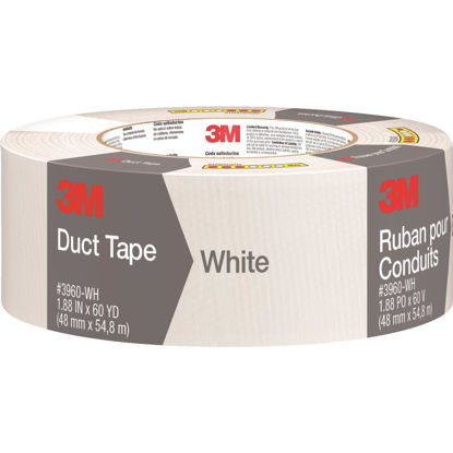Picture of 3M 1.88 In. x 60 Yd. Colored Duct Tape, White