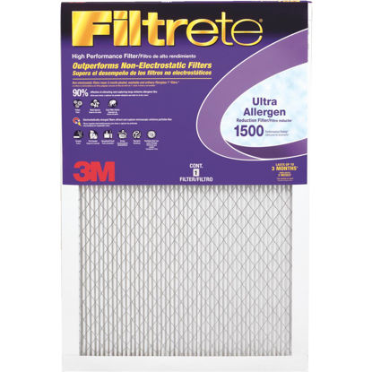 Picture of 3M Filtrete 16 In. x 16 In. x 1 In. Ultra Allergen Healthy Living 1550 MPR Furnace Filter