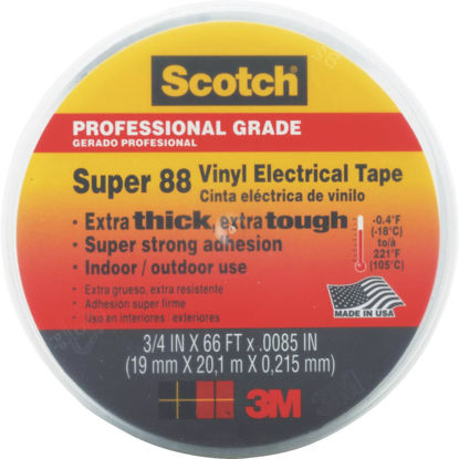 Picture of 3M Scotch Weather Resistant 3/4 In. x 66 Ft. Electrical Tape