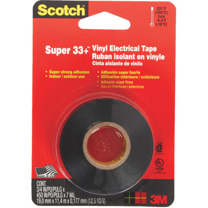 Picture of 3M Scotch General Purpose 3/4 In. x 450 In. Electrical Tape