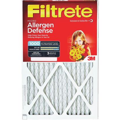 Picture of 3M Filtrete 12 In. x 20 In. x 1 In. Allergen Defense 1000/1085 MPR Furnace Filter
