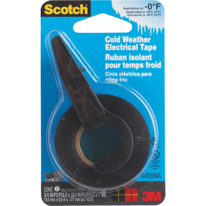 Picture of 3M Scotch Cold Weather 3/4 In. x 350 In. Vinyl Plastic Electrical Tape