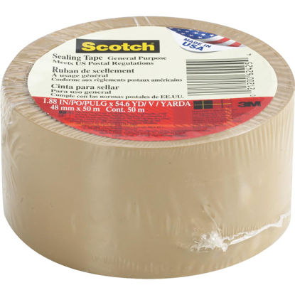 Picture of 3M Scotch 1.88 In. X 54.6 Yd. Tan Sealing Tape