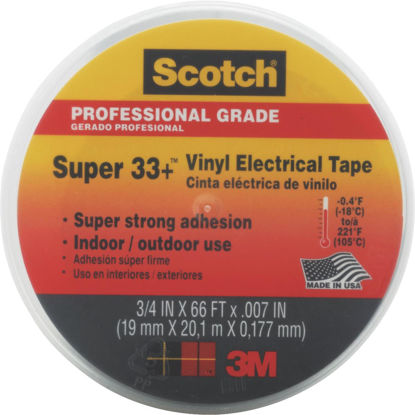 Picture of 3M Scotch General Application 3/4 In. x 66 Ft. Vinyl Plastic Electrical Tape