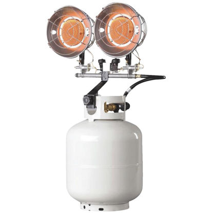 Picture of MR. HEATER 30,000 BTU Radiant Double Tank Top Propane Heater