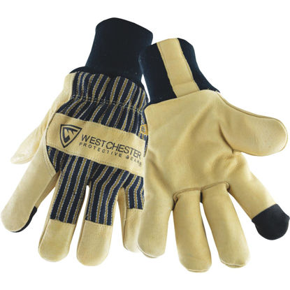 Picture of West Chester Men's XL Pigskin Leather Winter Glove with Knit Wrist
