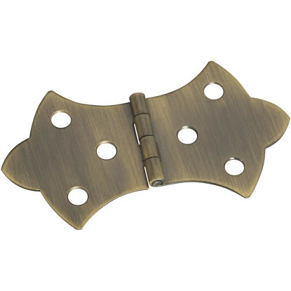 Picture of National 1-11/16 In. x 3-1/16 In. Antique Brass Hinge (2-Pack)